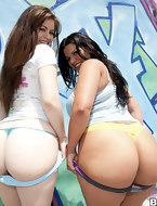 Cute valuable a-hole pics, 2 Sweet Big Asses! Angel Cakes, Angelina Castro