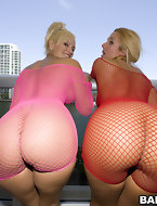 We got 2 wet asses with those chick's named Valerie and Skyla Paris.