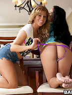Mariah Milano and Brooklyn Lee. If u like biggest natural tits, fake love bubbles and biggest booties