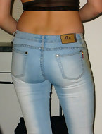 Big ass girls in jeans